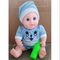 LOVELY BABY Kantong B760 - Mainan Anak Boneka Bayi Suara Bicara