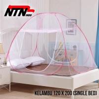 NTN Kelambu Tempat Tidur Anti Nyamuk Kanopi 120 x 200