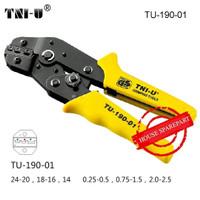 TNI-U TU-190-01 Terminal Skun Tang Crimping Cutter Cable For 24-14 AWG