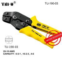TNI-U TU-190-03 Terminal Skun Tang Crimping Cutter For Cable 20-10 AWG