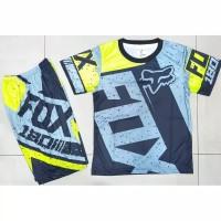 Stelan Jersey baju sepeda/balap anak baju cross murah