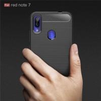 Case Xiaomi Redmi Note 7 Pro Spigen Like Armor Carbon Fiber TPU Soft