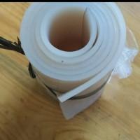 silicone rubber sheet / karet silikon lembaran 3mm 10cm x 100cm