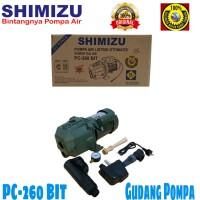 Pompa Air Jet Pump Shimizu PC 260 BIT TANPA TABUNG