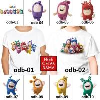 [ FREE NAMA ] Baju Kaos custom ODDBODS ANAK DAN DEWASA couple