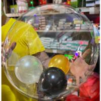 Balon BOBO / Balon Transparant / Balon bening / BALON PLASTIK LED PVC