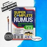 BUKU RUMUS & PELAJARAN SMP: SUPER COMPLETE M IPA SMP MTS KELAS 7 8 9
