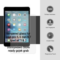 Tempered Glass Anti Gores Ipad Pro 5 6 9,7 9.7 Ipad Air 1 2 Curved 9H