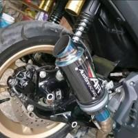 Knalpot Racing NMAX AEROX PCX ADV XMAX VARIO Fullsystem AUSTIN