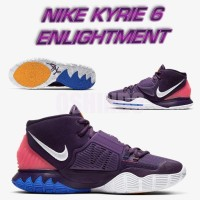 Sepatu Basket Nike Kyrie 6 Enlightment Warna Ungu Dijamin Asli Ori Xdr