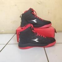 Sepatu Basket Diadora Spin Black Red Original Fanisastore219