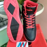 Sepatu Basket Diadora Spin M Black Red Original Bnib Diakb80809Br