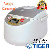 Rice Cooker Tiger JAG-B18 Plastic Micro Computer Controlled 1.8L