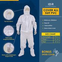 APD Baju Hazmat (termasuk cover shoes) bahan PVC