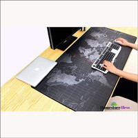 Mouse Pad PETA Aksesoris Komputer dan Laptop Mouse Pad Kain Halus Size