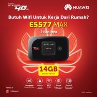 Mifi 4G Modem Bolt Max2 Huawei E5577 Batt 3000mah UNLOCK [BEST SELLER]