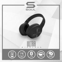 Soul Ultra Wireless Headphone Bass Over Ear Bluetooth High Definition