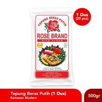 Paket Hemat Tepung Beras Rose Brand 500 Gram (1 Dus)