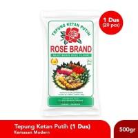 Paket Hemat Tepung Ketan Rose Brand 500 Gram (1 Dus)