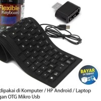 Trend - Keyboard USB Flexible Mini Support HP Android RANDOM
