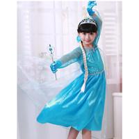 Baju Dress Frozen Elsa - Rok - Gaun Pesta - Baju Kostum Anak Frozen 2