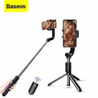 Baseus Folding Stand Stabilizer Tripod Tongsis Gimbal Bluetooth