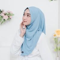 Jilbab Olahraga - Short Syria Sport [Warna Biru Muda]