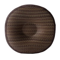 Hagihara Bantal Kursi/Lantai Pipih Bundar