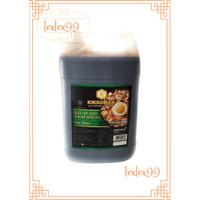 Kikkoman Kecap Asin Khas Jepang / Soy Sauce Jerigen 2L / 2.2Kg - Bubble Wrap