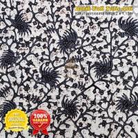 KAIN BATIK TULIS Batik Bakaran bahan sarimbit (Cendrawasih Klasik)