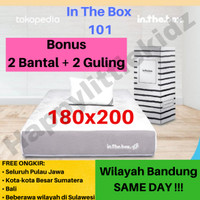Kasur Matras Springbed Inthebox In The Box 101 180x200 (King)