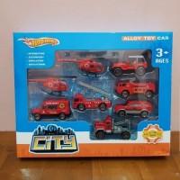 Diecast Mobil Pemadam Api - Diecast Kendaraan Fire Resque