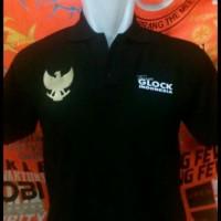tshirt baju kaos kerah Team Glock BIG SIZE 3XL & 4XL