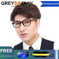 Grey Jack Kacamata Anti radiasi Blue ray dewasa unisex Y3015