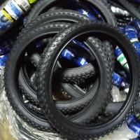 16 x 2.125 ban luar sepeda anak MURAH hitam polos