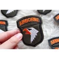 Air borne Emblem Airborne Military Patch Bordir Militer Army Badge