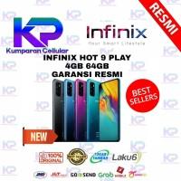 INFINIX HOT 9 PLAY 4/64 4GB 64GB GARANSI RESMI