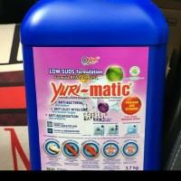 Yuri Matic 3,7Kg Detergent Untuk Mesin Cuci Aroma Lavender