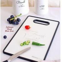 Talenan Unik Kotak Dua Sisi Motif Fruit Vegetables