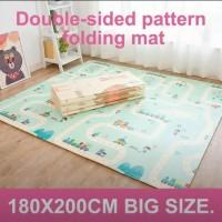 Playmat Baby Anak - Tikar Lipat Evamat Foam - Karpet Matras Alas Bayi