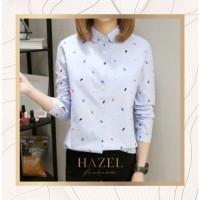 Baju Kantor Kemeja Wanita Semi Formal Office Shirt Import China Murah