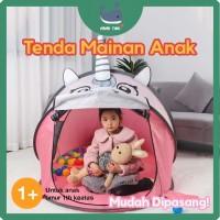 Tenda Mainan Anak Unicorn Berkualitas - Pink - Lucu