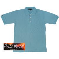 Kaos Kerah Polo Shirt Lengan Pendek Andre Michel 233.29 Hijau Tosca