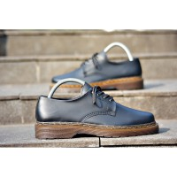 Sepatu Casual Pria Formal Docmart Low Boots |Black Gum