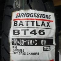 Ban 120/80-17 BT46 Bridgestone Touring Battlax Belakang Rear