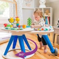 Baby Einstein Around We Grow 4-in-1 Baby Walker & Activity Table