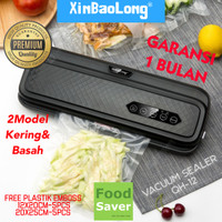FreshpackPro QH-12 / QH-S12 XinBaoLong Food Vacuum Sealer Mesin Vacum