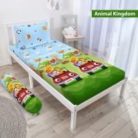 Sprei Vito - ANIMAL KINGDOM - 120x200 (Single) - Tinggi 20cm