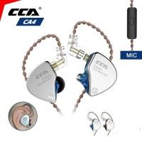 CCA CA4 Dual Driver DD + BA - Earphone with MIC In Ear Monitor Headset