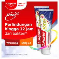Colgate Total Professional Whitening Toothpaste/Pasta Gigi 150gr 2 Pcs
